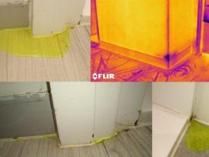 Shower cubicle Leakage
